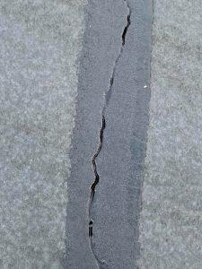 crack in blacktop